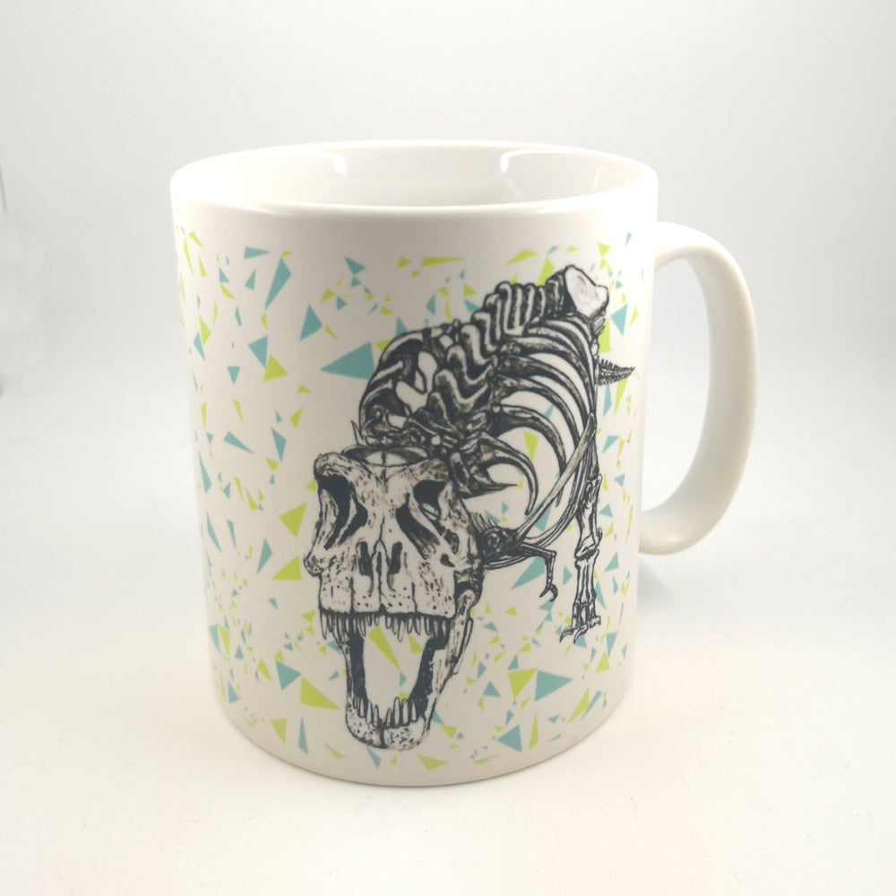 T.rex Illustrated Mug
