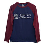 Organic Navy Baseball Top