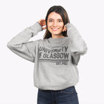 Organic Stripe Sweatshirt - Grey