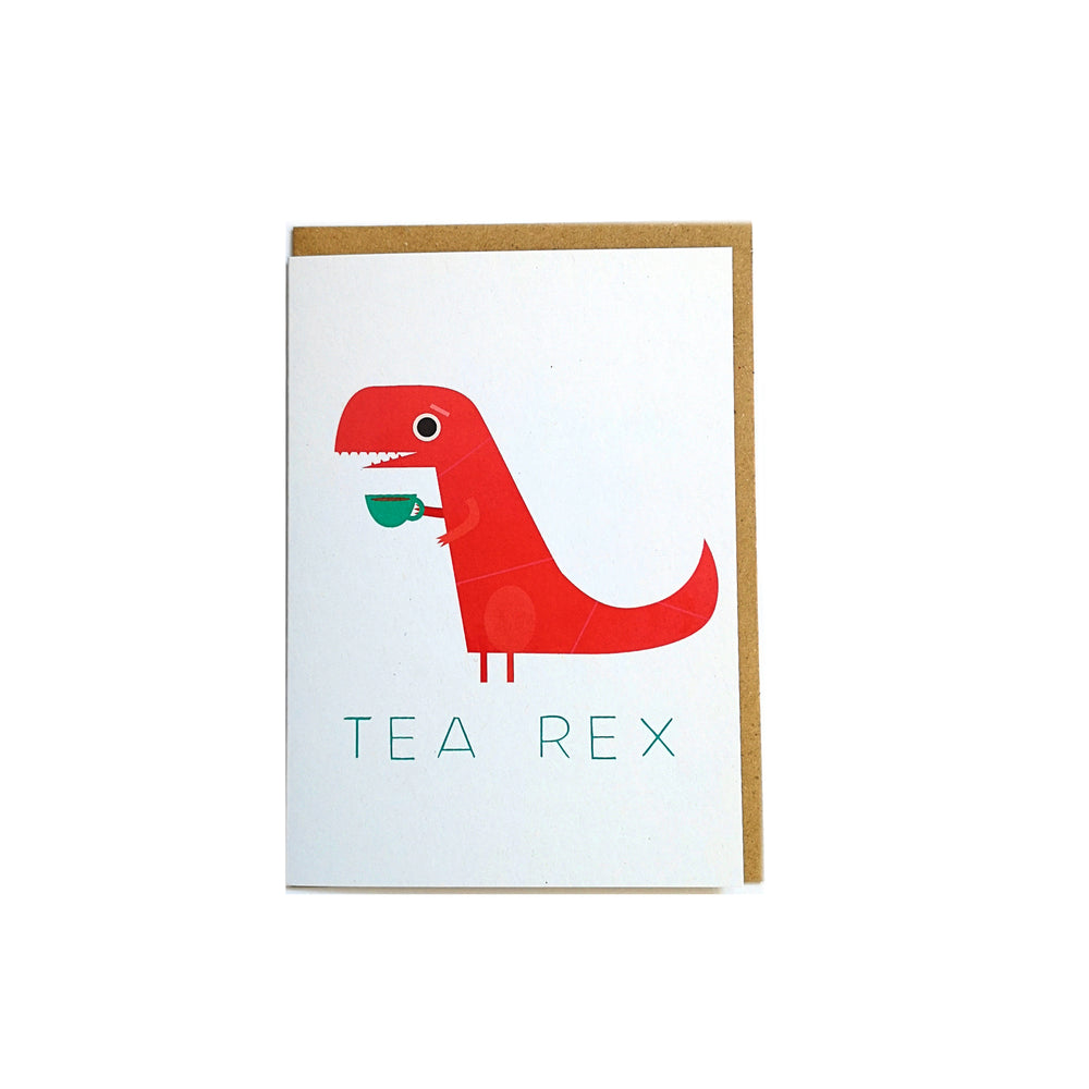 Tea Rex Card