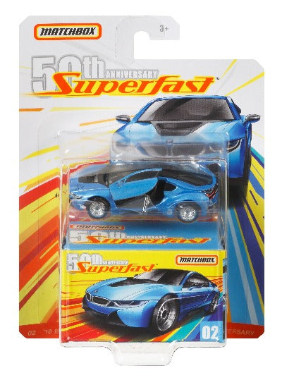 Matchbox™ Superfast™ 50th Anniversary Collection, Moving Parts - Blind Bag