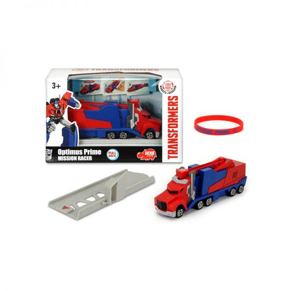 Transformers Mission Racer Optimus Prime