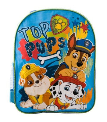 Paw Patrol Toddler Backpack Boys