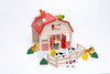 RolyPolyz Wooden Toys Farm Set