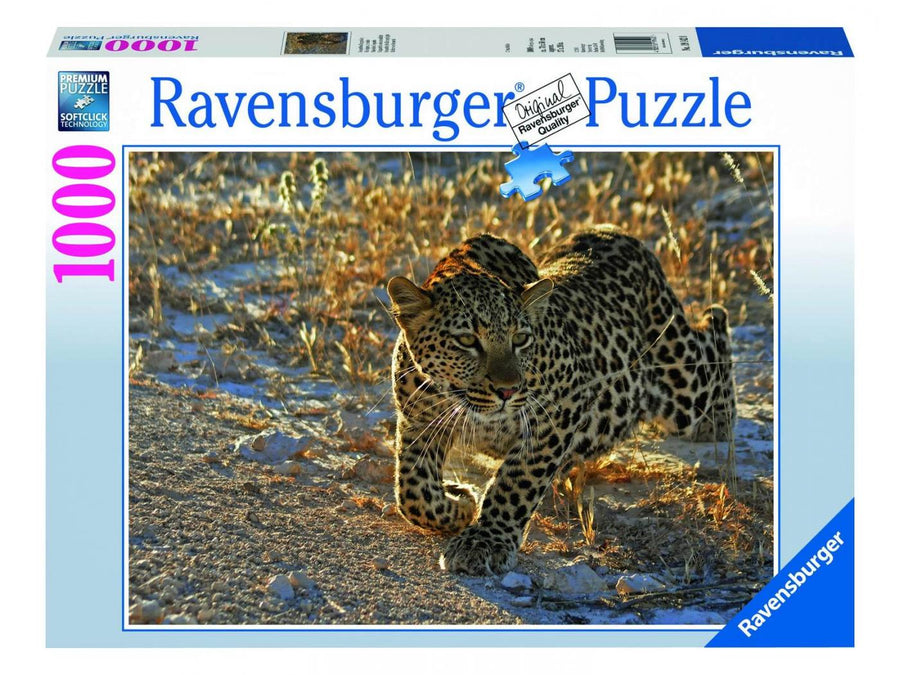 Ravensburger XXL 1000pc Puzzle-Leopard in the Morning