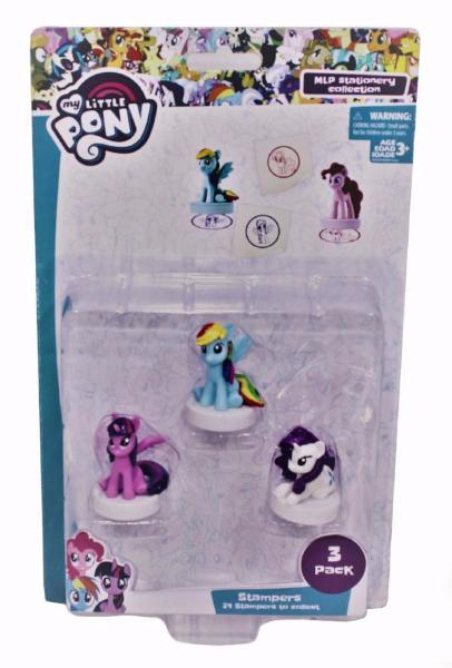 My Little Pony 3 Pack Stampers