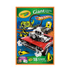 Crayola Hot Wheels 18 Giant Coloring Pages