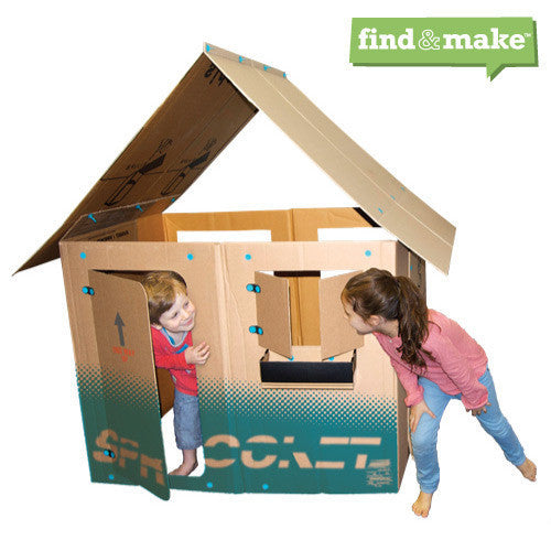 Makedo Find & Make Playhouse