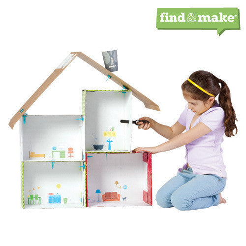 Makedo Find & Make Dollhouse