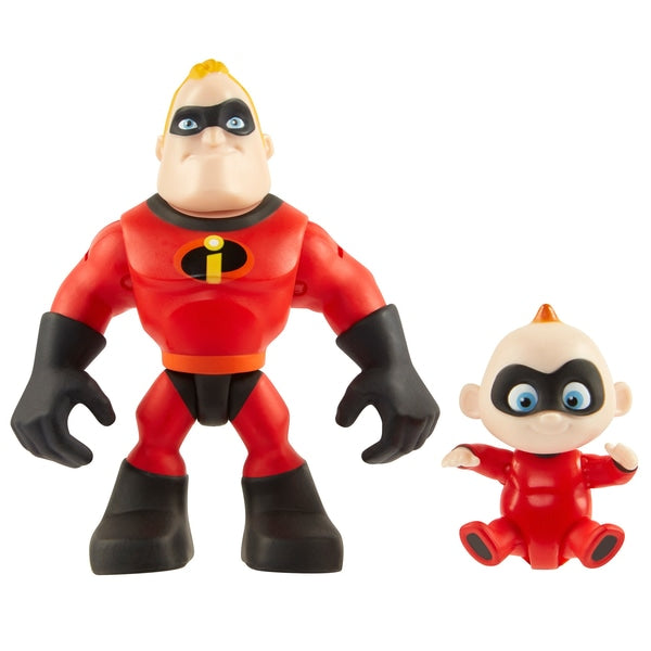 Disney Pixar Incredibles 2 Precool 2PK Figures-Mr Incredible & Jack-Jack