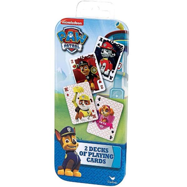 Paw Patrol 2 Decks Of Playing Cards