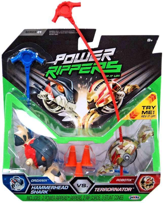 Assorted Power Rippers 2 pack