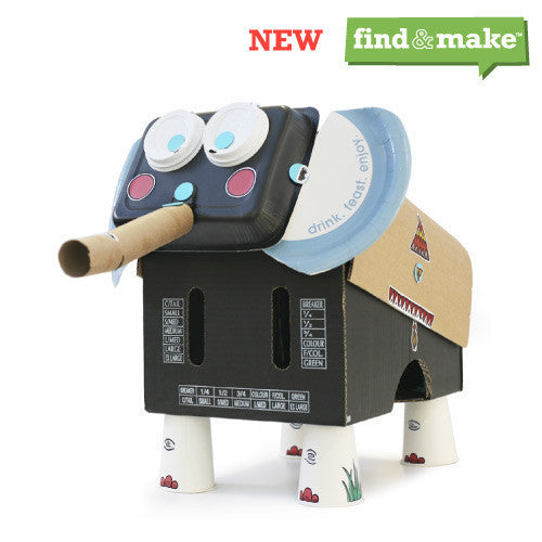 Makedo Find & Make Elephant