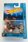Hot Wheels HW City 1:64 Diecast Moto Rider