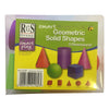 Smart Play- 5 Piece Geometric 3D Shapes