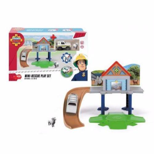 Fireman Sam The Cast Mini Series - Animal Rescue Playset