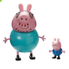 Peppa Pig with Peppa Papa and Peppa Mama