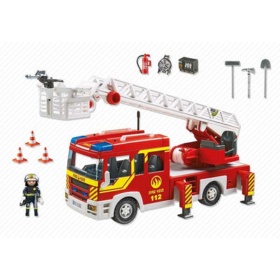 Playmobil Airport Fire Engine With Lights And Sound 5337