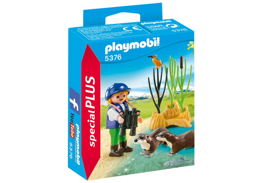 Playmobil Young Explorer with Otters 5376