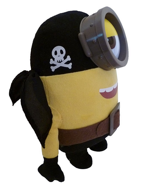 Minions Plush- Stuart Pirate Soft Toy