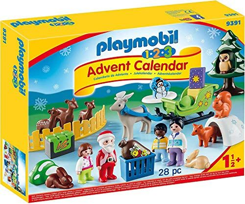 Playmobil 1.2.3 Advent Calendar 'Christmas in the Forest of the Animals' 9391