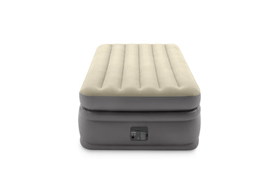 Intex Twin Comfort Airbed Fibre Tech BIP