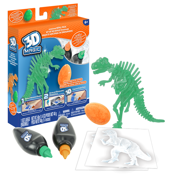 3D Magic Refill Packs