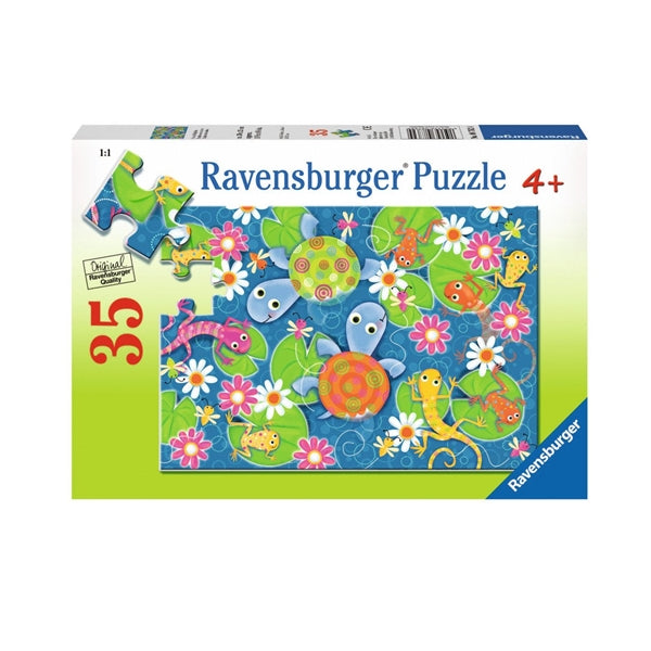 Ravensburger Colourful Reptiles Puzzle