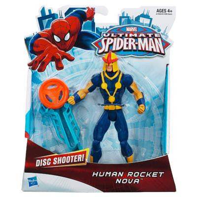 The Ultimate Spider Man Human Rocket