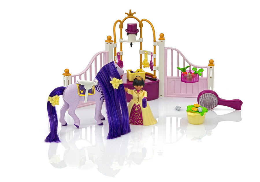 Playmobil Princess Castle Stable 6855