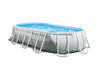 Intex 5,03mx2,74mx1,22m Prism Frame Oval Pool Set