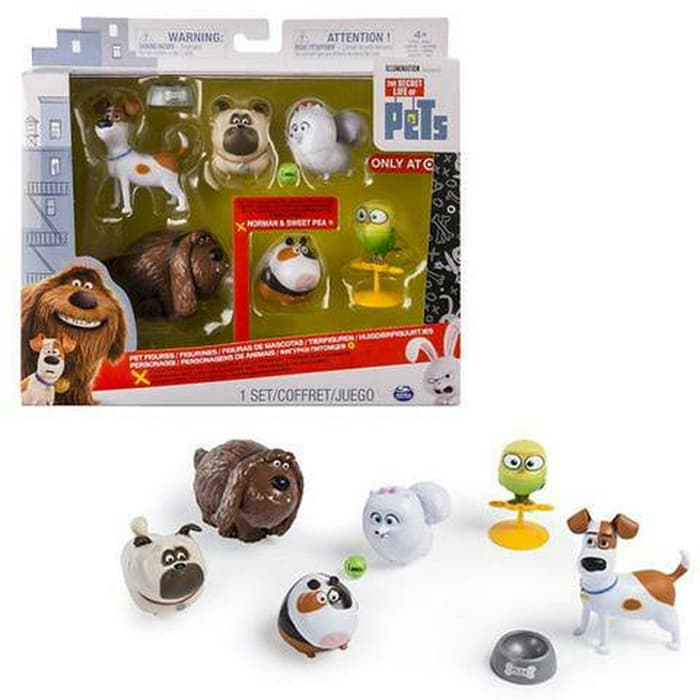 The Secret Life Of Pets 6 Pack Figures