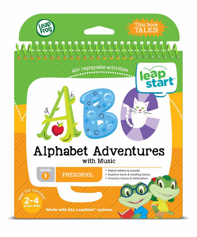 Leapfrog Leapstart Junior- Alphabet Adventures Level1