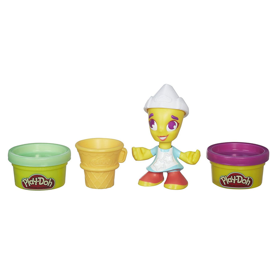 Play-Doh Town Ice Cream Girl & Friends