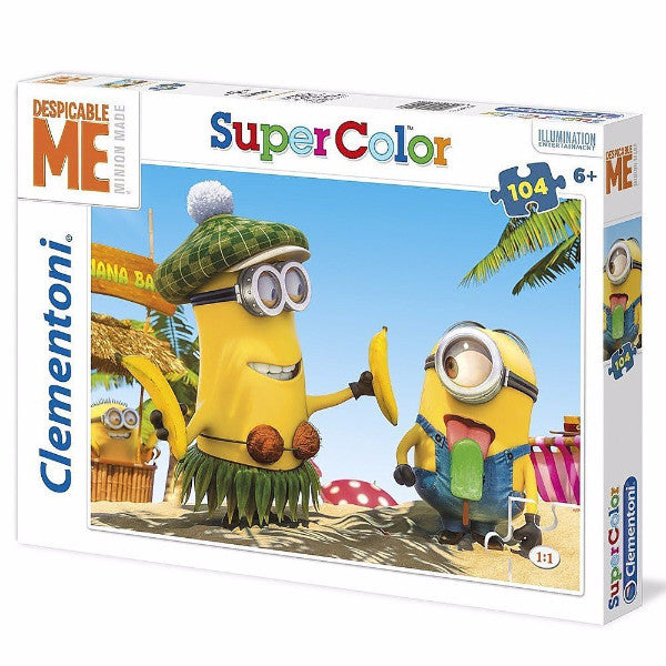 Despicable Me- Super Color 104 piece puzzle