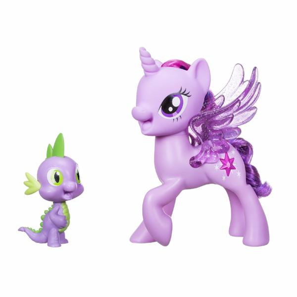 My Little Pony Princess Twilight Sparkle Spike The Dragon Friendship