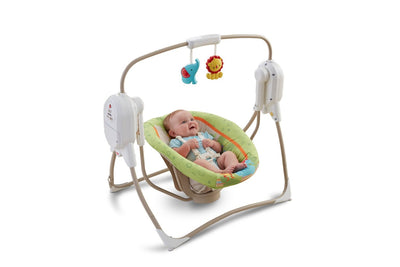 Fisher-Price Rainforest SpaceSaver Cradle-n-Swing
