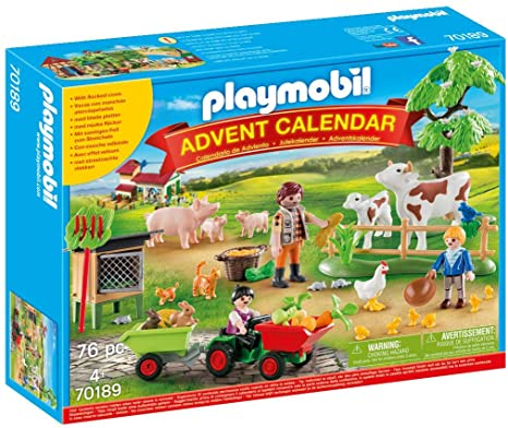 Playmobil Advent Calendar Farm 70189