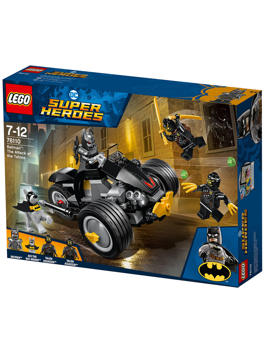 Lego Dc Superheroes Batman The Attack Of The Talons 76110