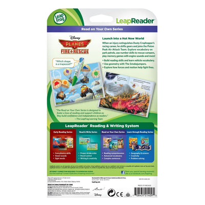 LeapFrog LeapReader Book: Disney Planes Fire and Rescue 21409