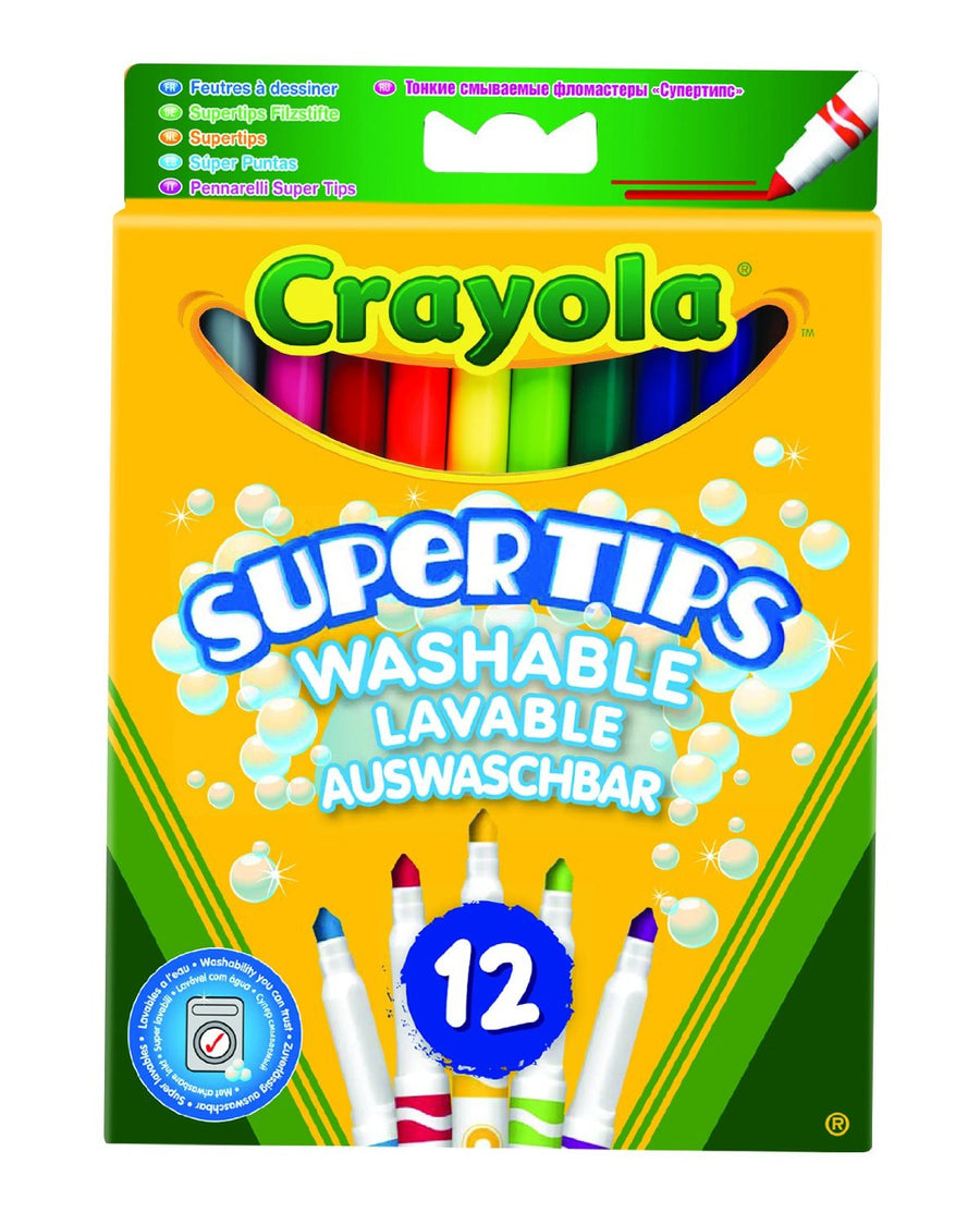 Crayola Supertips Washable 12 Pk