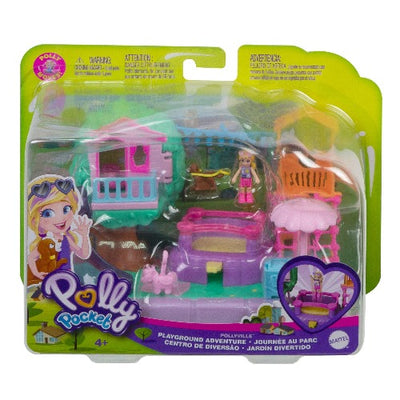 Polly Pocket Pollyville Outdoor Playsets Asst