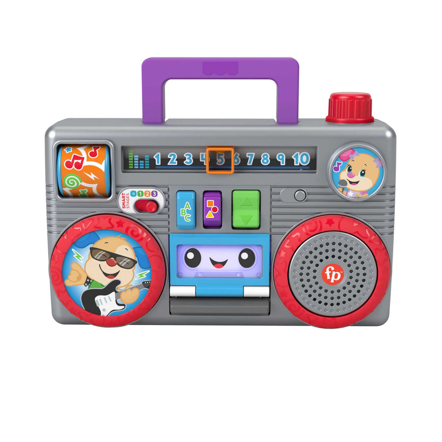 Fisher-Price Laugh & Learn Busy Boombox, Infant Activity Toy
