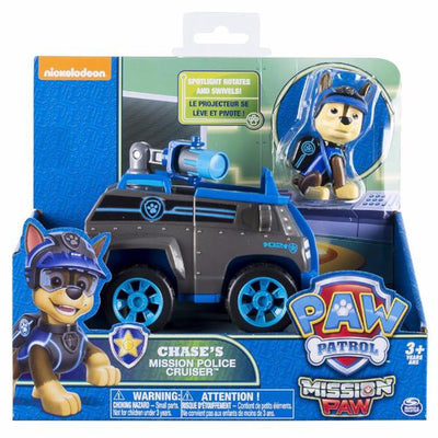 Paw Patrol -Mission Paw- Rescue Themed Vehicles with fig