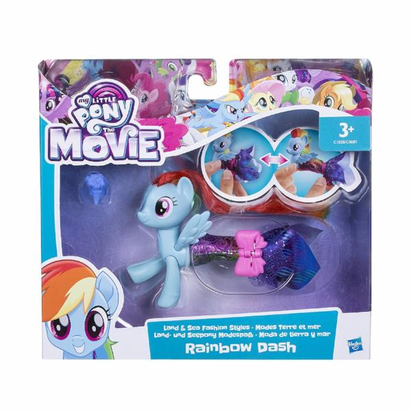 My Little Pony the Movie Land & Sea Fashion Styles Figurines
