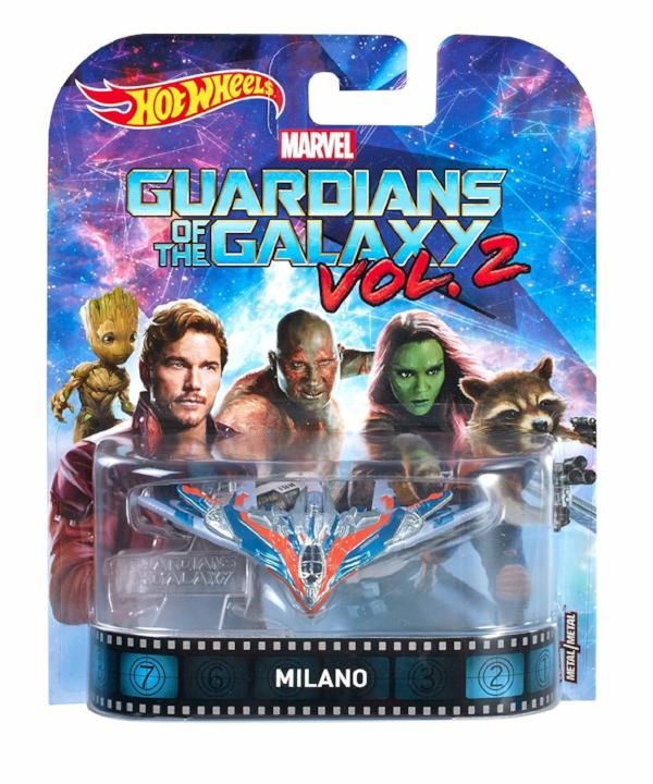 Hot Wheels Guardians of the Galaxy Milano Vol.2 Die Cast Car