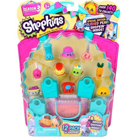 Shopkins 12 pack Figures-Assorted - Styles Vary
