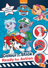 Paw Patrol - Sticker Dress Up (16 Pages, 4 Sticker Pages)