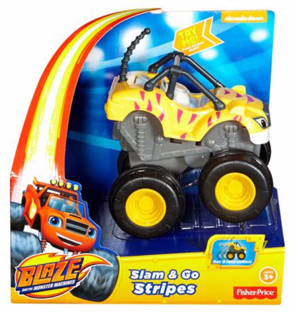 Fisher Price Blaze & the Monster Machines Slam and Go Truck Set