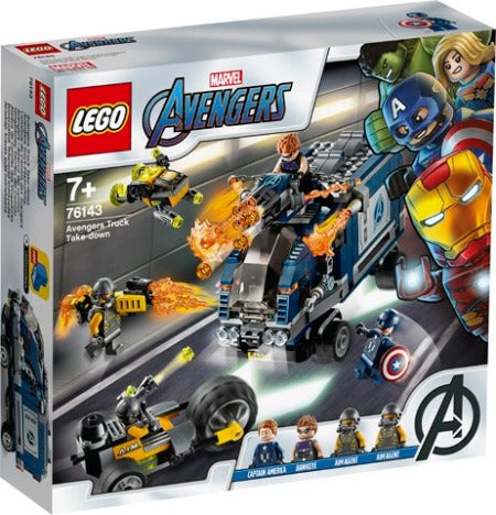 Lego Marvel Avengers Avengers Truck Take-Down 76143